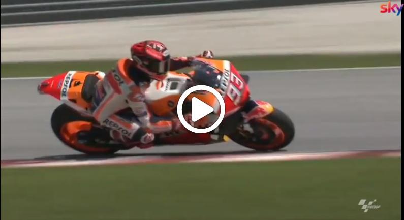 MotoGP | Test Sepang, Marquez rallentato da una spalla non in perfette condizioni [VIDEO]