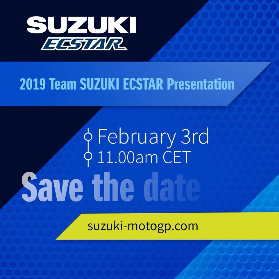 MotoGP | Presentazione Suzuki Streaming [VIDEO]