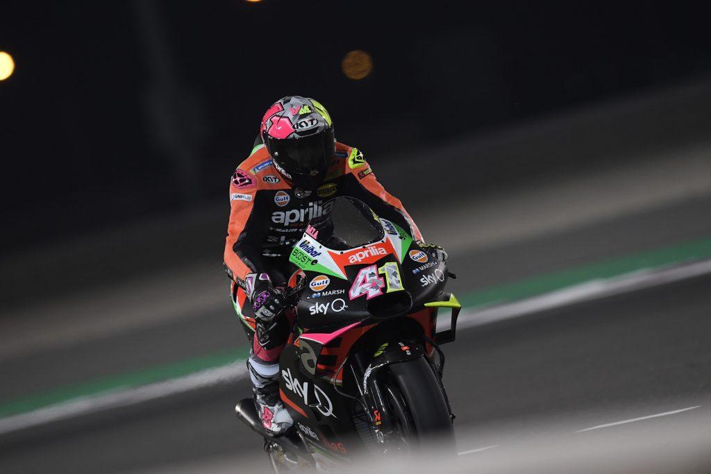 "MotoGP | Test Qatar Day 2: A.Espargarò, ""C'è ancora del margine"""