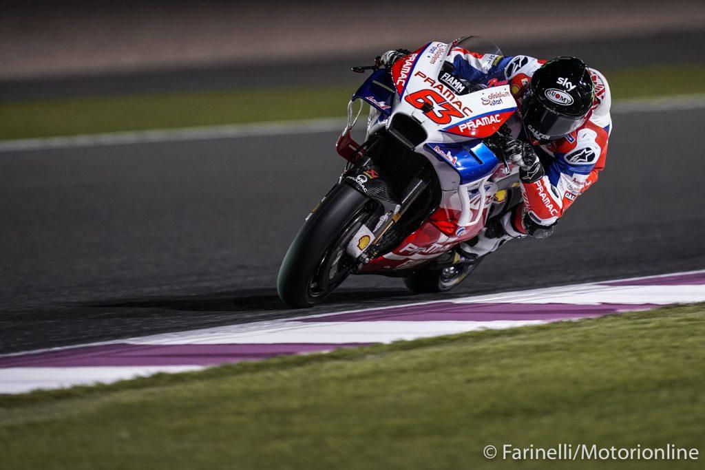 "MotoGP | Test Qatar Day 3: Bagnaia, ""Mi sento pronto per la prima gara? Sì"""