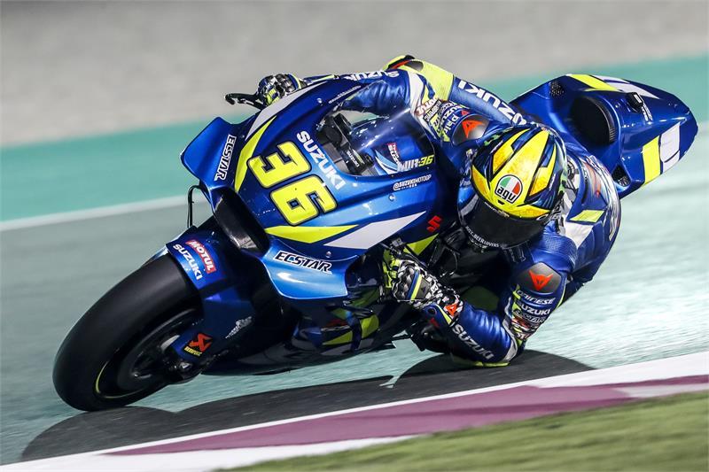 MotoGP | Test Qatar Day 3: Il forte vento protagonista della prima metà di giornata, Mir attualmente il più veloce
