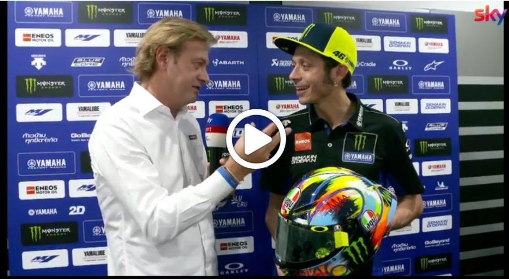 MotoGP | Come è nato il casco invernale di Valentino Rossi? [VIDEO]