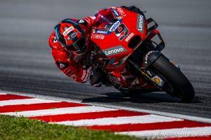 """MotoGP   Test Sepang Day 2: Petrucci, """"Abbiamo raccolto dei buoni riscontri"""" [VIDEO]"""