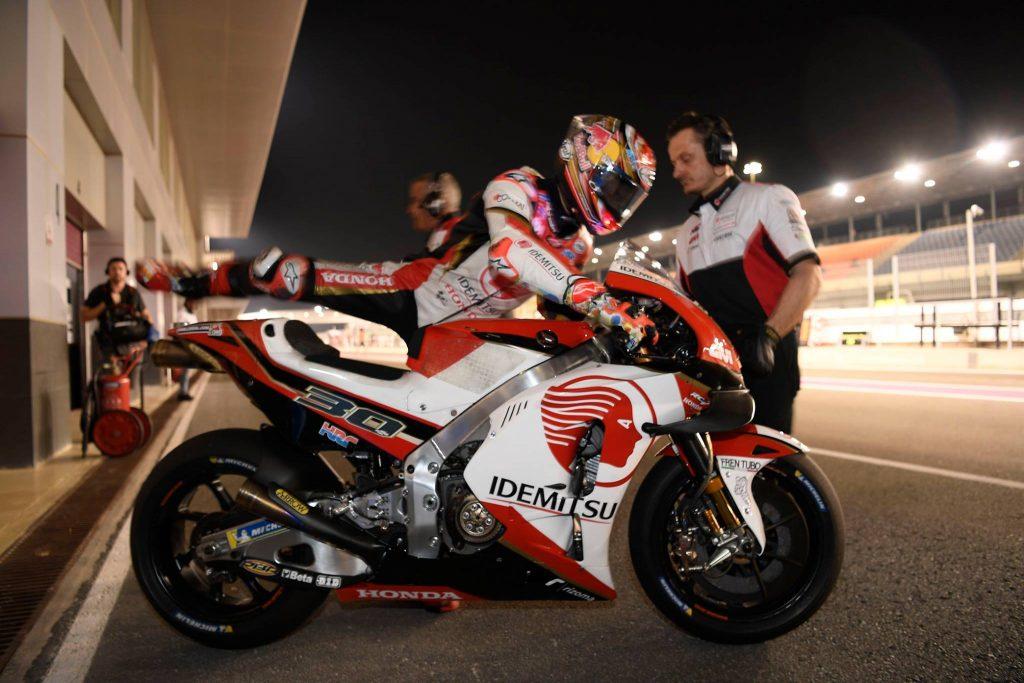 "MotoGP | Test Qatar Day 1: Nakagami, ""Primi riscontri positivi"""