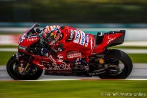 MotoGP | Test Sepang Day 2: Sessione in corso, Dovizioso al Top, Rossi è quarto