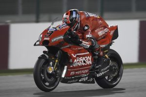 """MotoGP   Test Qatar Day 1: Petrucci, """"Siamo veloci sia con le gomme nuove che con quelle usate"""""""