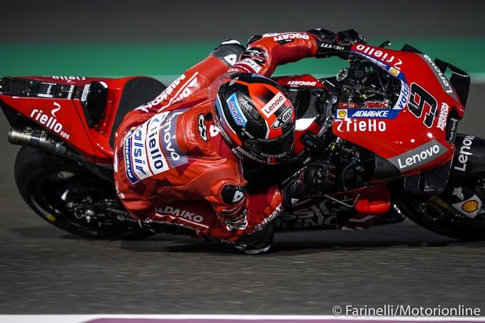 "MotoGP | Test Qatar Day 3: Petrucci, ""Saremo pronti per la gara"""