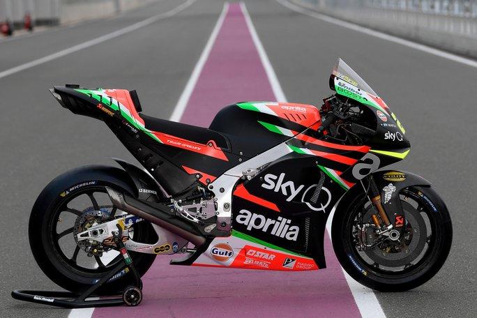 MotoGP | Presentata in Qatar la nuova Aprilia RS-GP 2019
