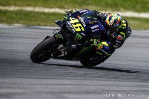 """MotoGP   Test Sepang Day 3: Valentino Rossi, """"Se la gara fosse domani sarei preoccupato"""" [Video]"""