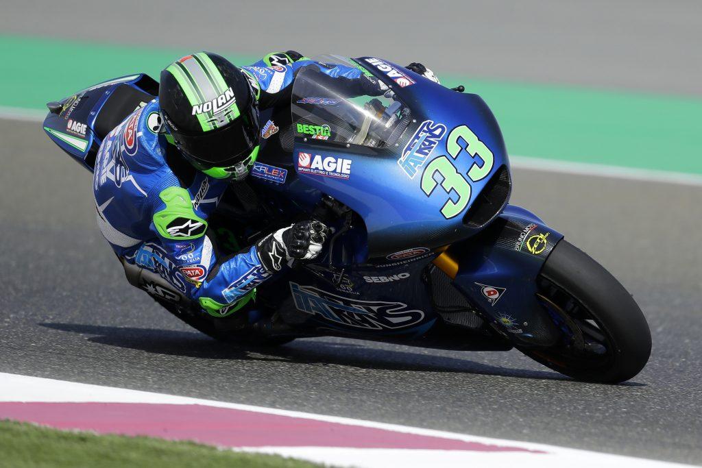"Moto2 | Gp Qatar Qualifiche: Bastianini, ""Giornata positiva"""