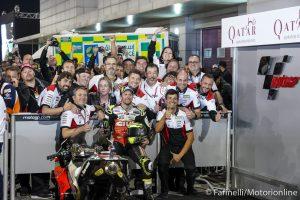 "MotoGP | Gp Qatar Gara: Crutchlow, ""Bello tornare con un podio!"""