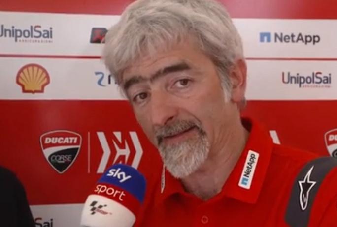 """MotoGP   Dall'Igna (Ducati): """"Con lo spoiler la temperatura si abbassa di 8 gradi"""" [VIDEO]"""