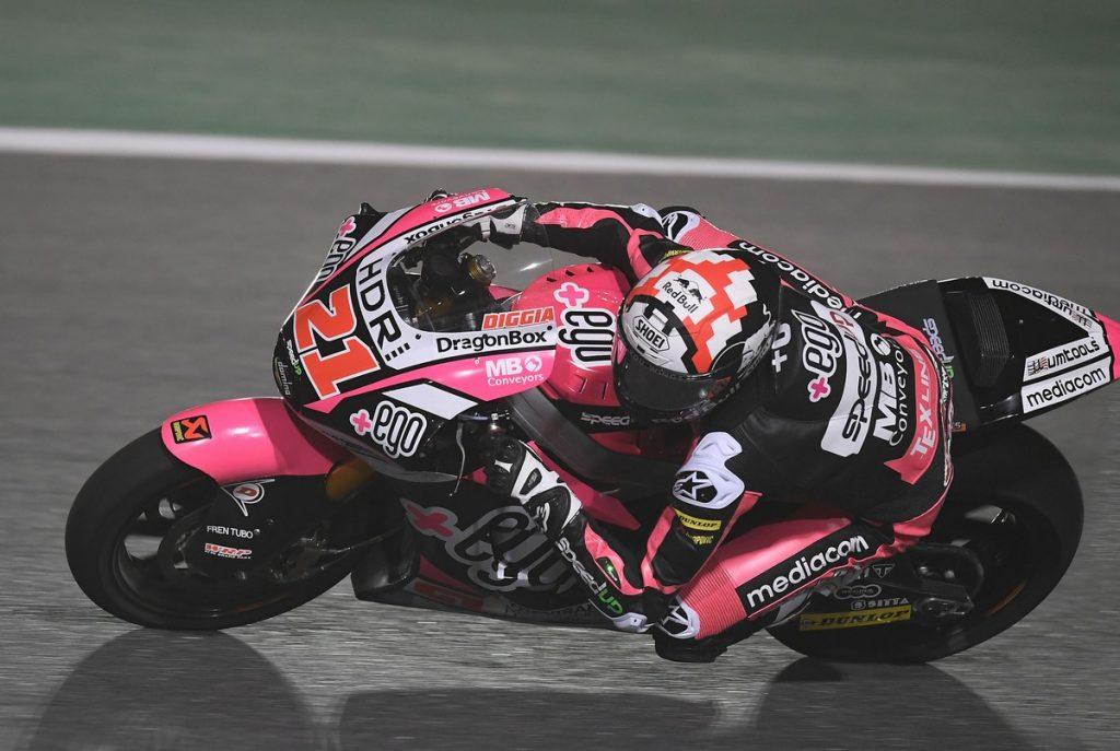 """Moto2   Test Qatar: Di Giannantonio, """"La moto mi piace sempre di più"""""""