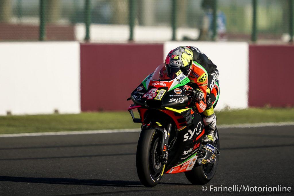 "MotoGP | Gp Qatar Qualifiche: A.Espargarò, ""Situazione pericolosa in pista"""