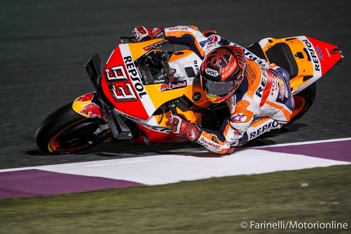 MotoGP | Gp Qatar FP2: Marquez show, miglior tempo e record della pista