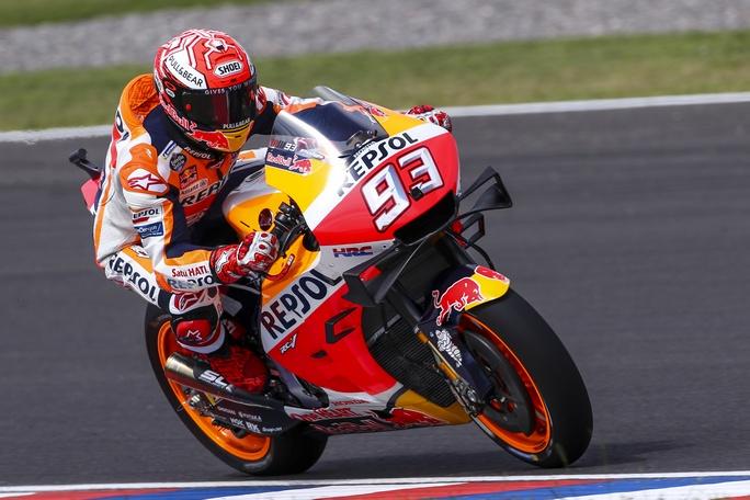 MotoGP   Gp Argentina Warm Up: Marquez precede Vinales e Dovizioso