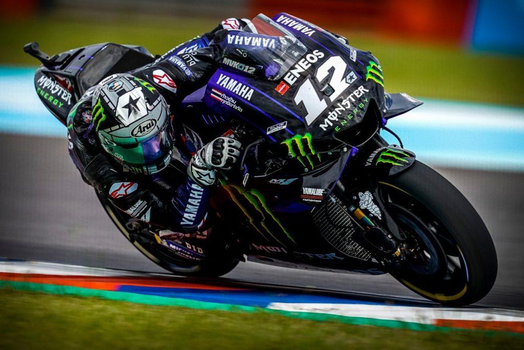 """MotoGP   GP Argentina Gara: Vinales, """"Con il passo che avevo nel Warm Up sarei stato con Marquez"""""""