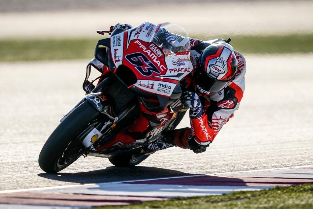 """MotoGP   Gp Qatar Day 1: Bagnaia, """"Il passo è buono, ma c'è tanto da lavorare"""""""
