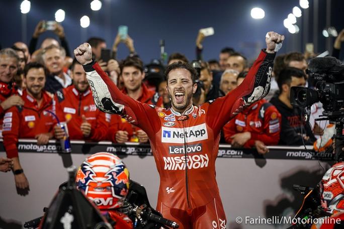 MotoGP | Andrea Dovizioso raggiunge Max Biaggi e Randy Mamola