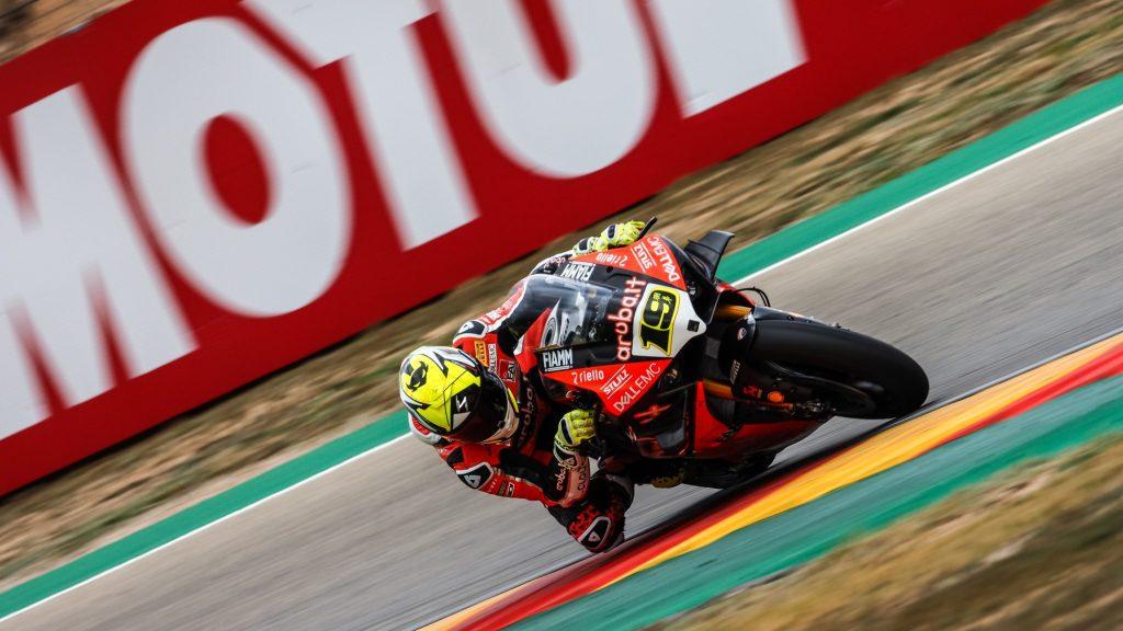 Superbike | Round Aragon, FP2: ancora Bautista davanti a tutti