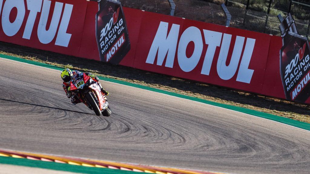 Superbike | Round Aragon, Tissot-Superpole: per Bautista pole e record