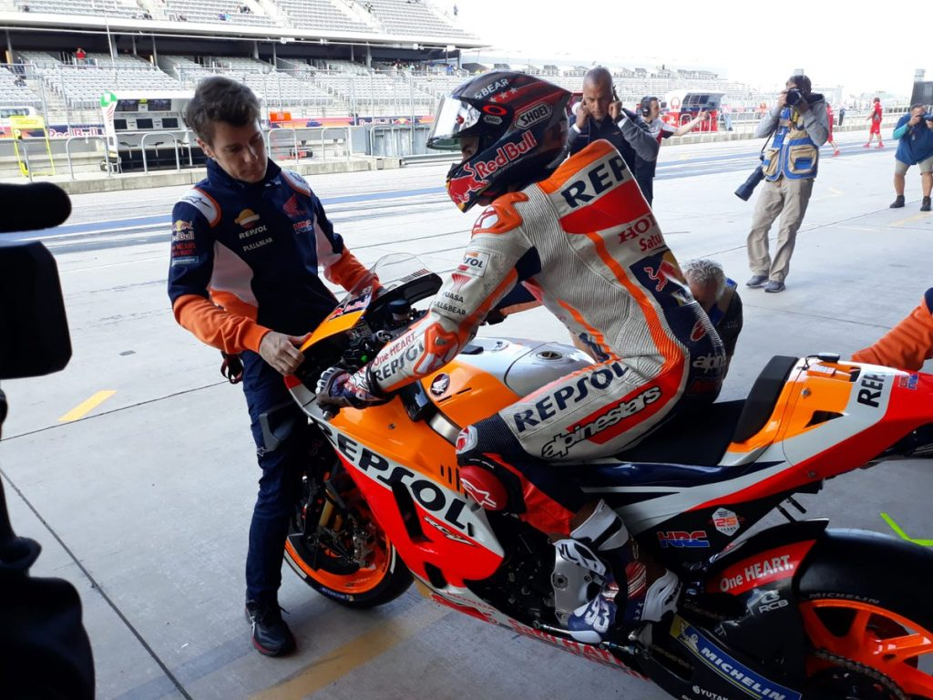 MotoGP | Gp Austin FP1: Comanda Marquez, Yamaha e Ducati inseguono