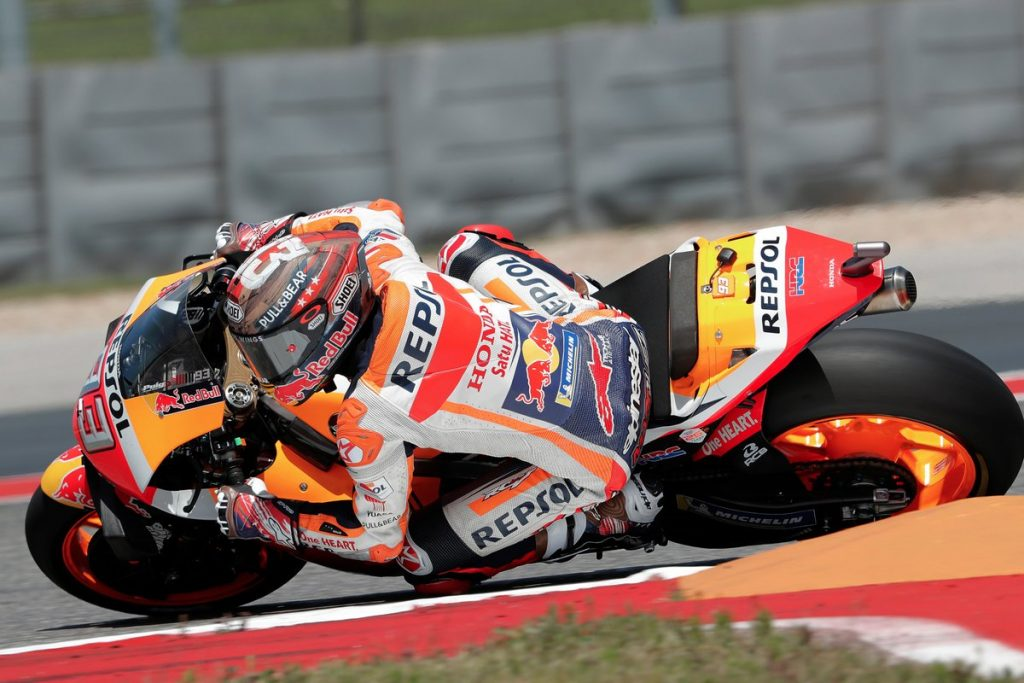 MotoGP | Gp Austin FP4: Marquez domina nelle condizioni miste