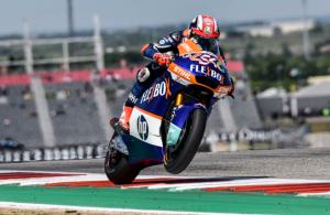 "Moto2 | GP Austin Gara: Pasini, ""Gara bellissima, come una vittoria"""