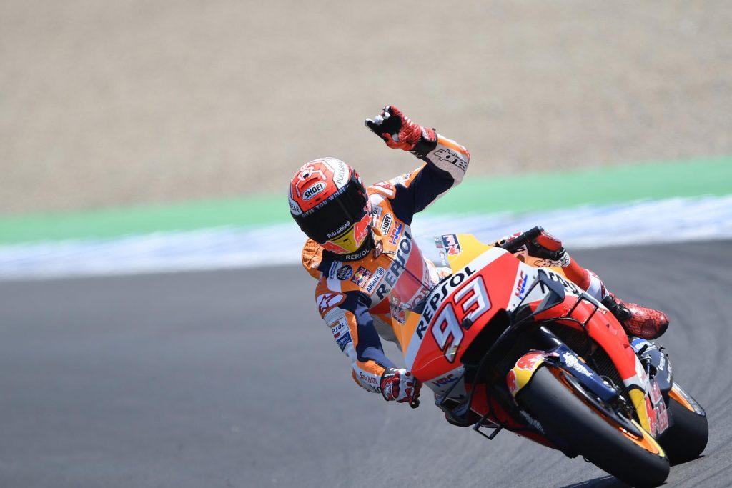"MotoGP | Gp Jerez Qualifiche: Marquez, ""Domani sarà una bella gara"""