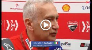 """MotoGP   Gp Mugello: Tardozzi (Ducati), """"Dovizioso? Non siamo preoccupati"""" [VIDEO]"""