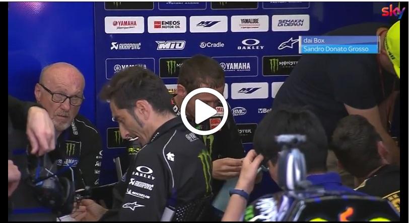 MotoGP | Gp Mugello: Problemi in Yamaha [VIDEO]