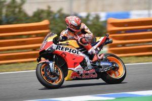 MotoGP | Gp Jerez FP4: Marquez al comando, Rossi tredicesimo [VIDEO]
