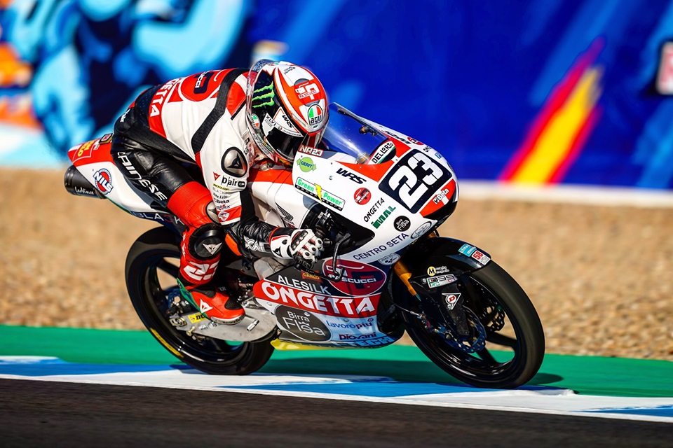 Moto3 | Gp Jerez Gara: Strepitosa doppietta del team SIC58 con Antonelli e Suzuki, Vietti terzo [VIDEO]