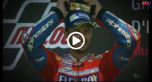 MotoGP | Dall'inferno al paradiso: la vittoria di Dovizioso al Mugello nel 2017 [VIDEO]