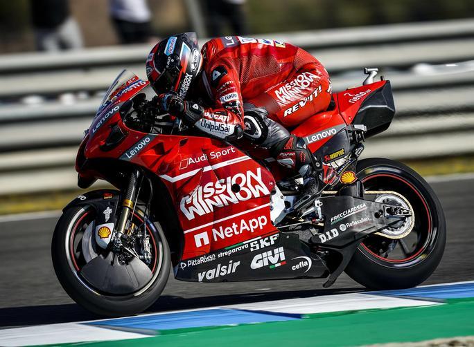 MotoGP | Gp Jerez FP3: Petrucci è il più veloce, Rossi costretto alle Q1