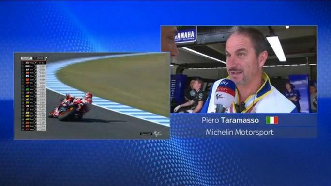 MotoGP   Gp Jerez: ll punto di Taramasso (Michelin) sulla scelta delle gomme [VIDEO]