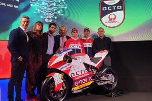 MotoE | Octo Pramac presenta la squadra che parteciperà al campionato elettrico