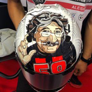 Moto3 | Gp Mugello: Tatsuki Suzuki omaggia Paolo Simoncelli con un casco speciale