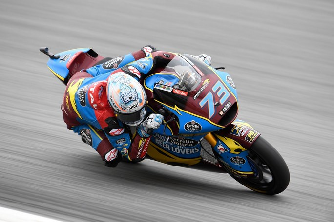 Moto2 | Gp Barcellona Warm Up: Marquez al comando