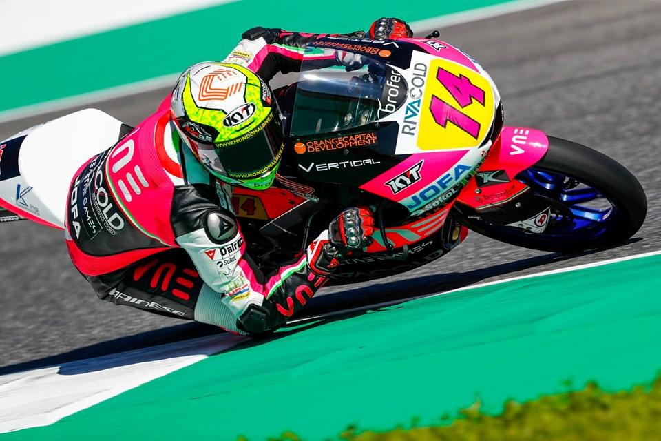 """Moto3   GP Mugello: Arbolino, """"Giornata molto intensa"""""""