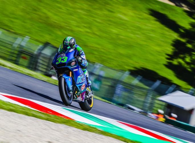 Moto2 | Gp Mugello Warm Up: Il rookie Bastianini in testa, Marini è quarto