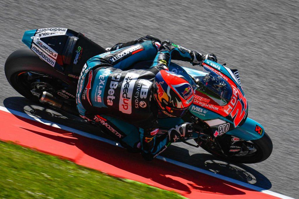 "Moto2   GP Mugello Gara: Di Giannantonio, ""Finalmente una gara come si deve"""
