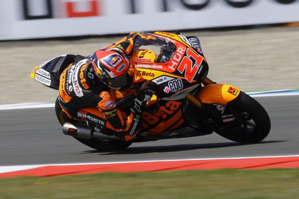 "Moto2 | GP Assen Qualifiche: Di Giannantonio, ""Sarà una gara tosta"""