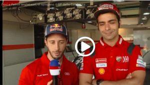MotoGP | Gp Barcellona: Dovizioso e Petrucci spiegano la pista catalana [VIDEO]