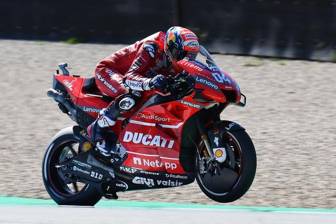 Danilo Petrucci con la Ducati anche nel 2020