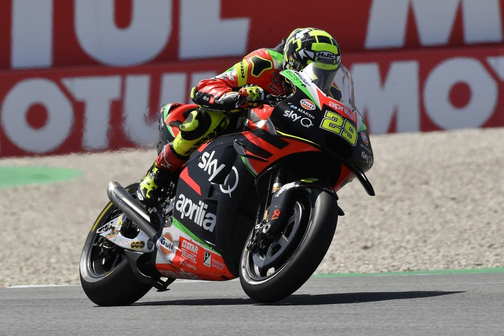 "MotoGP | Gp Assen Gara: Iannone, ""Felice per il ritmo"""
