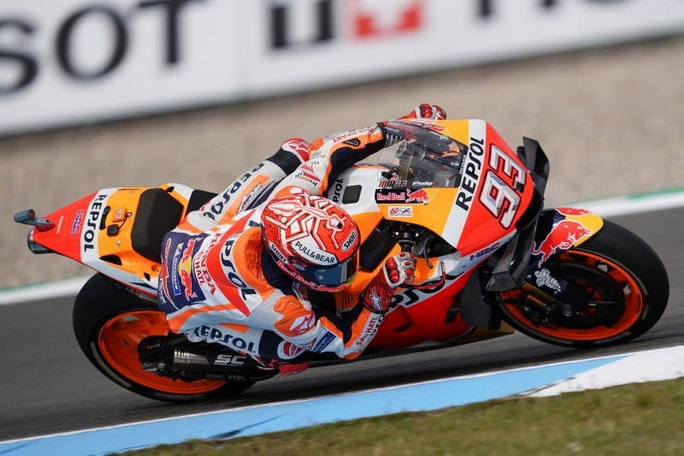 "MotoGP | Gp Assen Day 1: Marc Marquez, ""Mi dispiace molto per Lorenzo"""