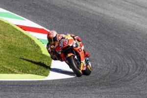 MotoGP | Gp Mugello Warm Up: Marquez è il più veloce, Dovizioso è terzo
