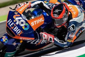 Moto2 | Gp Barcellona FP2: Fernandez precede Luthi, bene Baldassarri