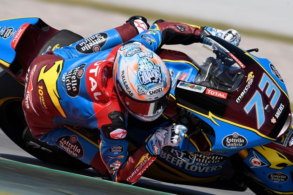 Moto2 | Gp Barcellona Gara: Terza vittoria consecutiva per Marquez, Baldassarri ko perde la vetta della classifica